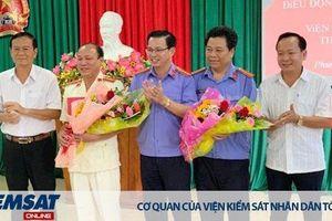 Viện KSND thị xã Phước Long có Viện trưởng mới
