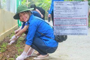 TT-Huế: Phong trào Chủ nhật xanh trở thành cảm hứng ra đề thi