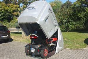 Gara di động độc và tiện dành cho xe máy