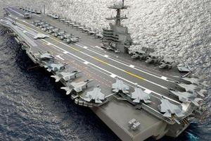 Tàu lớp Ford có nguy cơ bị tước mất F-35C