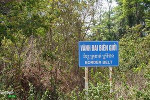 Xác định phạm vi vành đai biên giới tại tỉnh Kiên Giang