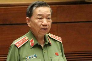 ĐBQH chất vấn Bộ trưởng Công an tại sao số tướng lĩnh vi phạm nhiều