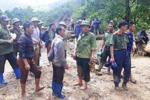 Mở rộng địa bàn tìm kiếm ba người bị lũ cuốn ở Điện Biên
