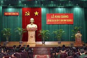 Học viện Chính trị khai giảng Lớp Đào tạo cao cấp lý luận chính trị khóa 2