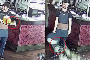 Cười chảy nước mắt tai nạn bị hài của chàng bartender điển trai