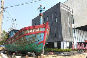 Trưng bày tàu cá bị tàu Trung Quốc đâm chìm: Biểu tượng đấu tranh bảo vệ lãnh hải