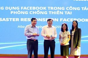 Ứng dụng Facebook phòng chống thiên tai