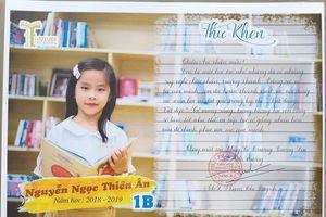 Nóng trên mạng xã hội: Thư khen hay giấy khen 'học sinh tiên tiến, học sinh giỏi'?