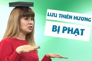 Lưu Thiên Hương múa hát cực lầy lội ngay trên sóng livestream