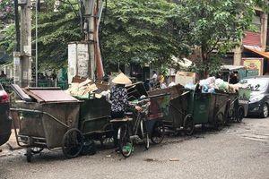 Ba Đình, Hà Nội: Người dân kêu cứu vì bãi tập kết rác thải gây ô nhiễm