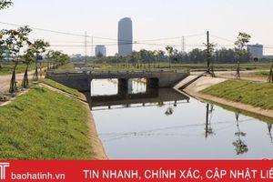 Kênh thoát nước phía tây TP Hà Tĩnh: 'Hơn cả một công trình'