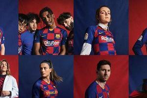 Barcelona ra mắt mẫu áo đấu sân nhà cho mùa 2019-2020