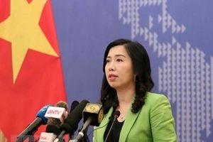 Bình luận của Việt Nam trước phát biểu của Thủ tướng Singapore