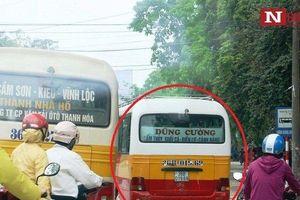 Tước phù hiệu xe khách lộng hành, chèn ép xe buýt được cán bộ sở GTVT 'mật báo' khi PV tới làm việc
