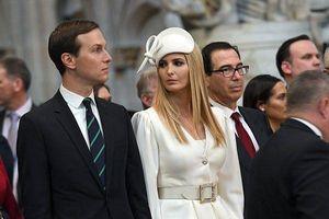 Ivanka Trump đẹp rạng rỡ bên cạnh chồng trong ngày gặp mặt Nữ hoàng Anh