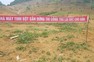 Kỳ 2: UBND tỉnh Sơn La liệu có mập mờ trong việc cấp phép cho doanh nghiệp?