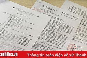 Huyện ủy Hà Trung trả lời đơn tố cáo của công dân xã Hà Lai