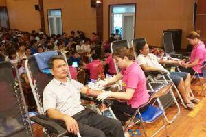 Mỹ Hào – Hưng Yên: Vận động được 431 đơn vị máu an toàn