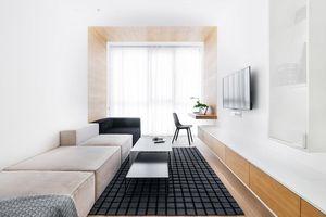 Căn hộ 65m2 vẫn rộng rãi nhờ bố trí nội thất khéo léo