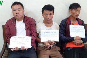 Sơn La bắt 3 đối tượng, thu giữ 20 bánh heroin, 12.000 viên ma túy
