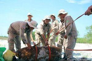 Quảng Trị: Hủy nổ quả bom nặng 340kg