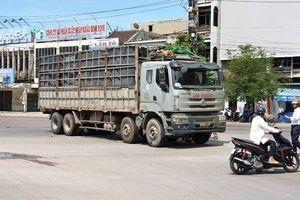 Xe tải vào đường cấm va chạm với xe máy, 1 phụ nữ tử vong