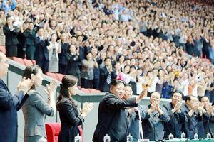 Em gái nhà lãnh đạo Triều Tiên xuất hiện trở lại sau 53 ngày vắng mặt