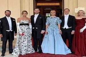 Thăm Anh, dàn trai xinh gái đẹp nhà Tổng thống Trump gây 'sốt mạng'