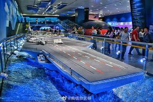 Phát hoảng thiết kế tàu sân bay Type 003 của Trung Quốc
