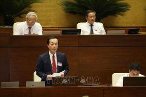 Bộ trưởng Bộ Xây dựng trả lời chất vấn về vấn đề cấp hàng nghìn hecta đất làm dự án du lịch tâm linh