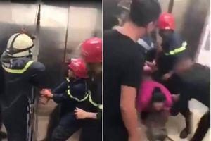 Thang máy trong cao ốc bất ngờ ngừng hoạt động, 21 người mắc kẹt
