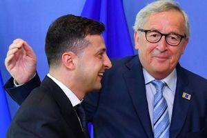 Tổng thống Ukraine cảm ơn vai trò đặc biệt của EU trong 'kiềm chế Nga'