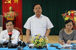 Sơn La chính thức thay trưởng ban chỉ đạo thi THPT quốc gia 2019