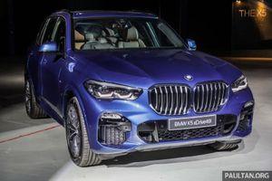 BMW X5 2019 có giá từ 3,6 tỷ đồng tại Malaysia