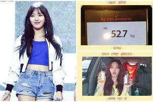 Chanmi (AOA) gây sốc khi tiết lộ bí kíp giảm đến 3kg trong 5 ngày
