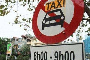 11 tuyến đường ở Hà Nội sẽ cấm taxi vào giờ cao điểm