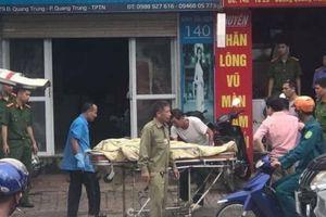 Chủ tiệm may tử vong bất thường trong cửa hàng ở Thái Nguyên
