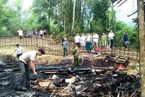 Hà Giang: Hỏa hoạn thiêu rụi nhà sàn mái lá, thiệt hại hàng trăm triệu đồng