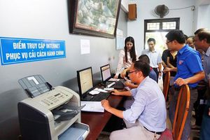 Chính phủ yêu cầu rà soát, nâng cao hiệu quả dịch vụ công trực tuyến mức độ 3 và 4.