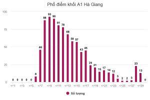 Thí sinh ở Hà Giang được nâng điểm kỷ lục 29,95