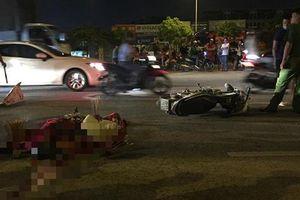 Hà Nội: Xe máy chạy ngược chiều đâm chết người rồi bỏ chạy khỏi hiện trường