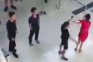 Nhân viên an ninh sân bay Thọ Xuân lại bị đánh