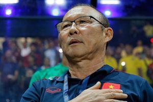 HLV Park Hang-seo tốn nhiều năng lượng cho chiến thắng trước Thái Lan