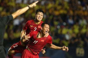 Đánh bại Thái Lan, ĐT Việt Nam tăng bậc trên BXH FIFA