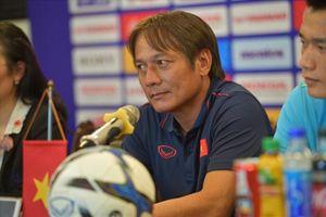 Trợ lí HLV U23 Việt Nam: 'Đấu Myanmar là bước đệm cho SEA Games 2019'