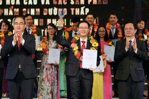 Công bố và trao tặng giải thưởng Sáng tạo TP HCM