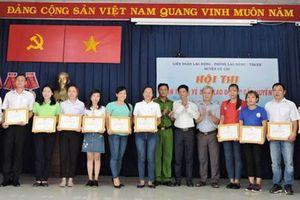 Hội thi giúp nâng cao kiến thức bảo hộ lao động