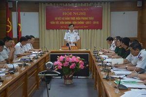 Bộ tư lệnh Cảnh sát biển sơ kết thực hiện Chỉ thị 202