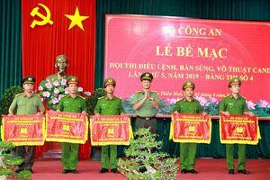 Hải Phòng và TT-Huế vào vòng chung kết Hội thi Điều lệnh - bắn súng - võ thuật CAND