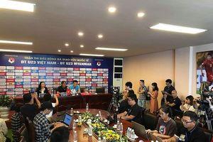U23 Việt Nam chỉ còn 28 cầu thủ cho trận đấu với Myanmar